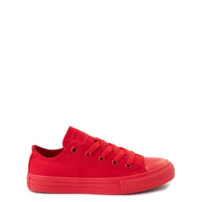 Main view of Converse Chuck Taylor All Star Lo Sneaker - Little Kid - Cherry Monochrome