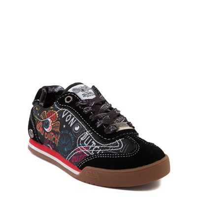 Alternate view of Von Dutch Jax Athletic Shoe - Little Kid - Black / Multi