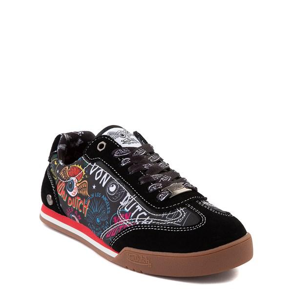 alternate view Von Dutch Jax Athletic Shoe - Big Kid - Black / MultiALT1