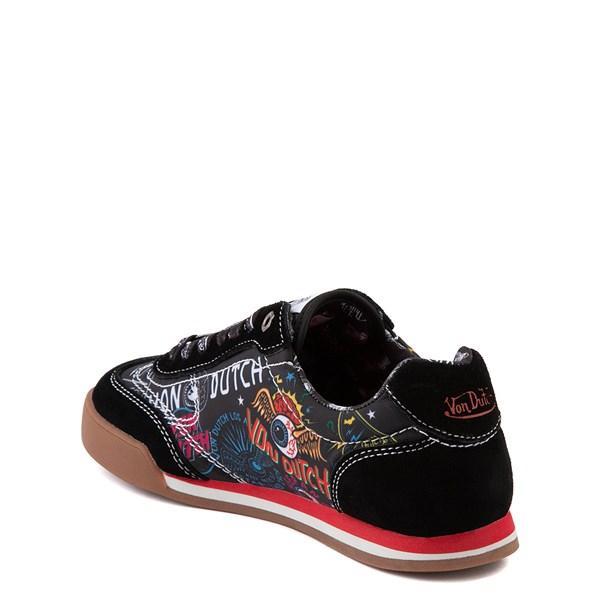 alternate view Von Dutch Jax Athletic Shoe - Big Kid - Black / MultiALT3-2