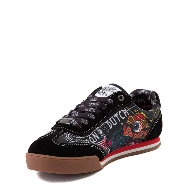 alternate view Von Dutch Jax Athletic Shoe - Big Kid - Black / MultiALT3