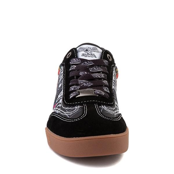 alternate view Von Dutch Jax Athletic Shoe - Big Kid - Black / MultiALT4