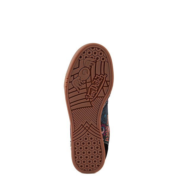 alternate view Von Dutch Jax Athletic Shoe - Big Kid - Black / MultiALT5
