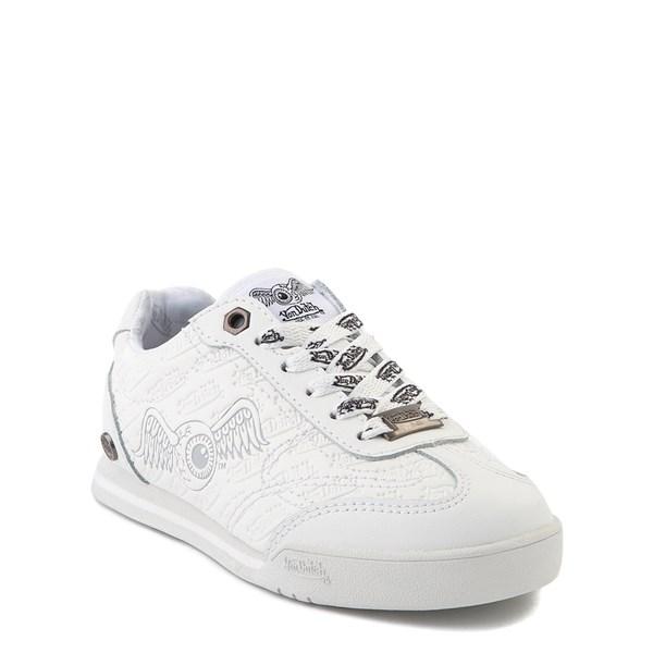 alternate view Von Dutch Kens Athletic Shoe - Little Kid - White / GrayALT1