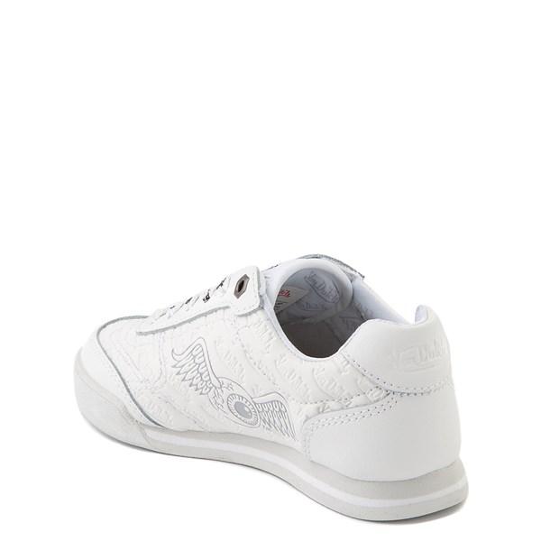 alternate view Von Dutch Kens Athletic Shoe - Little Kid - White / GrayALT2
