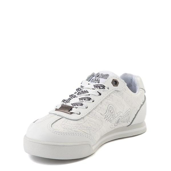alternate view Von Dutch Kens Athletic Shoe - Little Kid - White / GrayALT3