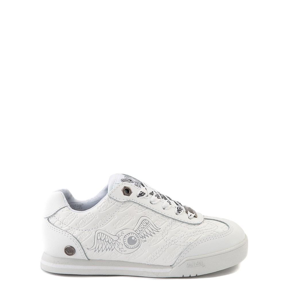 Von Dutch Kens Athletic Shoe - Little Kid - White / Gray
