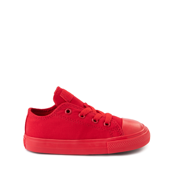 Main view of Converse Chuck Taylor All Star Lo Sneaker - Baby / Toddler - Cherry Monochrome