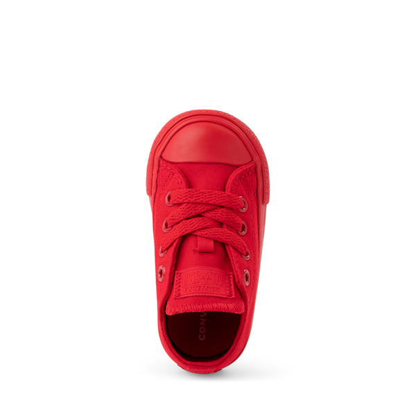 alternate view Converse Chuck Taylor All Star Lo Sneaker - Baby / Toddler - Cherry MonochromeALT2