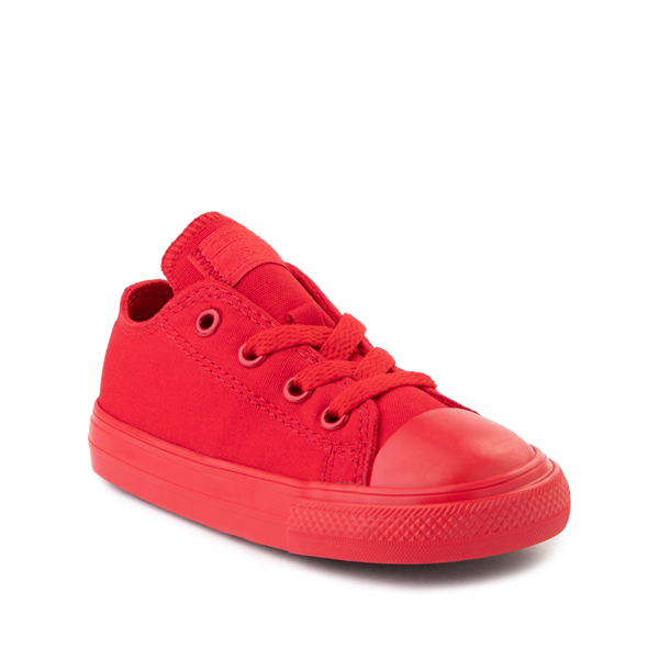 alternate view Converse Chuck Taylor All Star Lo Sneaker - Baby / Toddler - Cherry MonochromeALT5