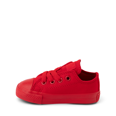 Alternate view of Converse Chuck Taylor All Star Lo Sneaker - Baby / Toddler - Cherry Monochrome