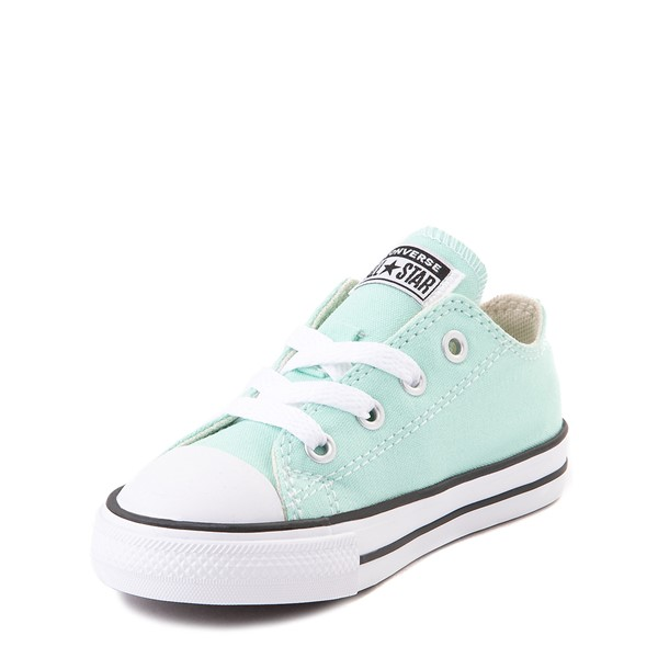 alternate view Converse Chuck Taylor All Star Lo Sneaker - Baby / Toddler - Ocean MintALT2