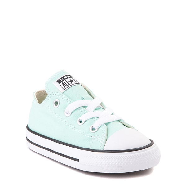alternate view Converse Chuck Taylor All Star Lo Sneaker - Baby / Toddler - Ocean MintALT5