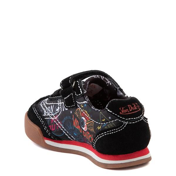 alternate view Von Dutch Jax Athletic Shoe - Baby / Toddler - Black / MultiALT2