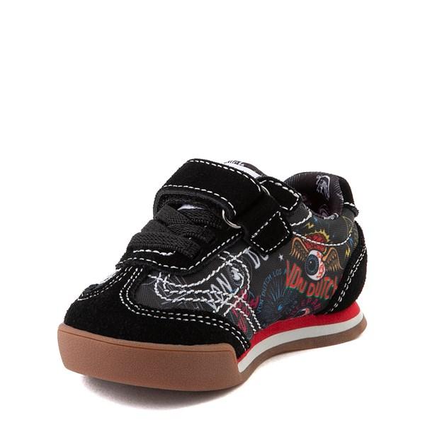 alternate view Von Dutch Jax Athletic Shoe - Baby / Toddler - Black / MultiALT3