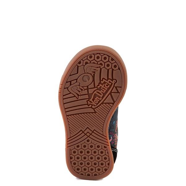 alternate view Von Dutch Jax Athletic Shoe - Baby / Toddler - Black / MultiALT5