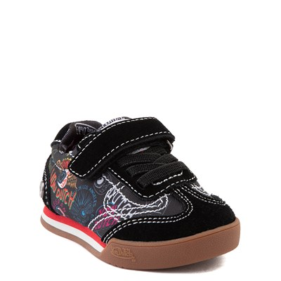 Alternate view of Von Dutch Jax Athletic Shoe - Baby / Toddler - Black / Multi