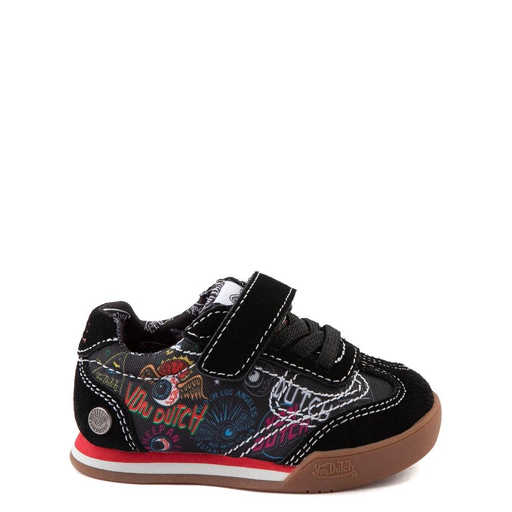 Von Dutch Jax Athletic Shoe - Baby / Toddler - Black / Multi