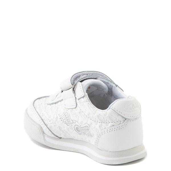 alternate view Von Dutch Kens Athletic Shoe - Baby / Toddler - White / GrayALT2