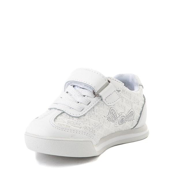 alternate view Von Dutch Kens Athletic Shoe - Baby / Toddler - White / GrayALT3