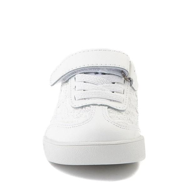 alternate view Von Dutch Kens Athletic Shoe - Baby / Toddler - White / GrayALT4