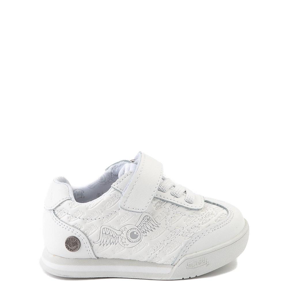 Von Dutch Kens Athletic Shoe - Baby / Toddler - White / Gray
