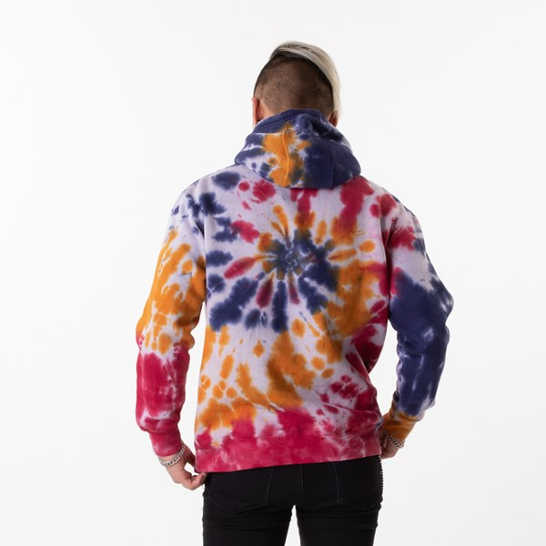 alternate view Mens Tie Dye Hoodie - MultiALT1