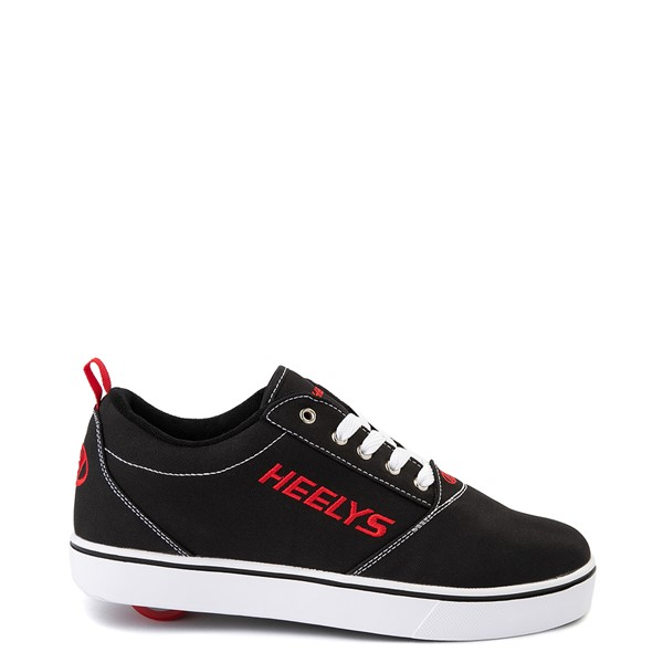 Main view of Mens Heelys Pro 20 Skate Shoe - Black / Red