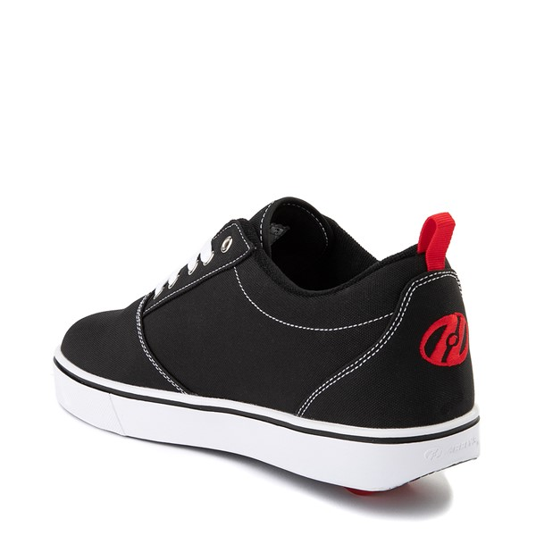 alternate view Mens Heelys Pro 20 Skate Shoe - Black / RedALT1
