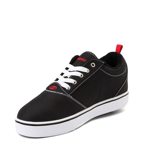 alternate view Mens Heelys Pro 20 Skate Shoe - Black / RedALT2