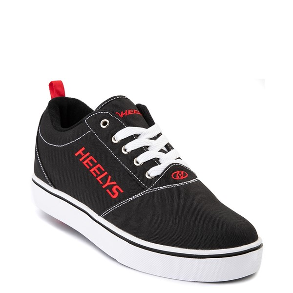 alternate view Mens Heelys Pro 20 Skate Shoe - Black / RedALT5