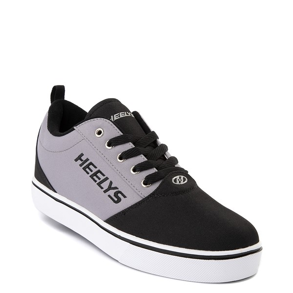 alternate view Mens Heelys Pro 20 Skate Shoe - Black / GrayALT5