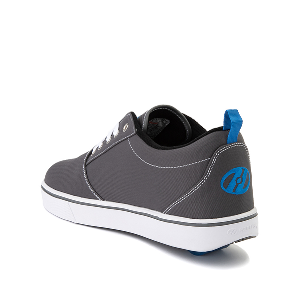 alternate view Mens Heelys Pro 20 Skate Shoe - Gray / Royal BlueALT1