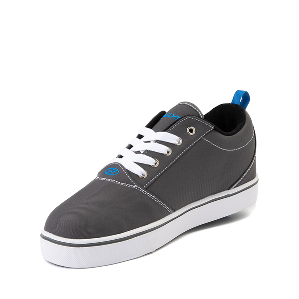 alternate view Mens Heelys Pro 20 Skate Shoe - Gray / Royal BlueALT2
