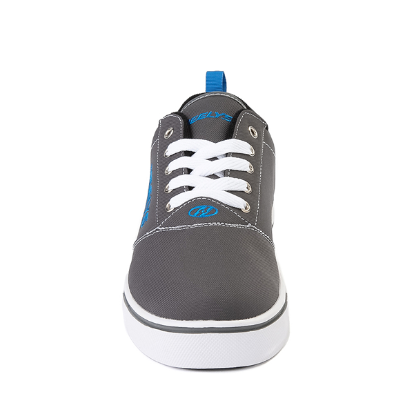 alternate view Mens Heelys Pro 20 Skate Shoe - Gray / Royal BlueALT4