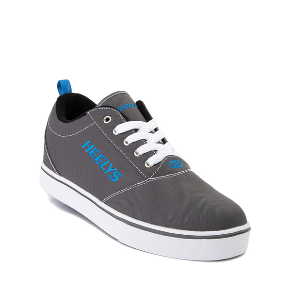 alternate view Mens Heelys Pro 20 Skate Shoe - Gray / Royal BlueALT5