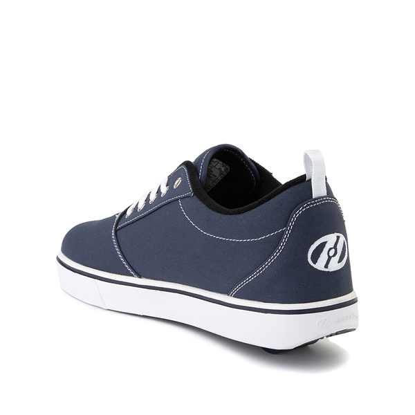 alternate view Mens Heelys Pro 20 Skate Shoe - Navy / WhiteALT1
