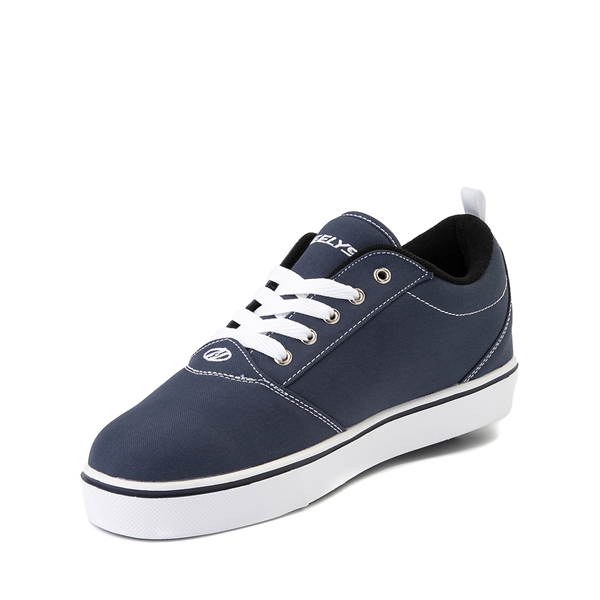 alternate view Mens Heelys Pro 20 Skate Shoe - Navy / WhiteALT2
