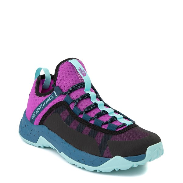 alternate view Womens The North Face Trail Escape Peak Hiking Shoe - Purple Cactus Flower / Moroccan BlueALT1