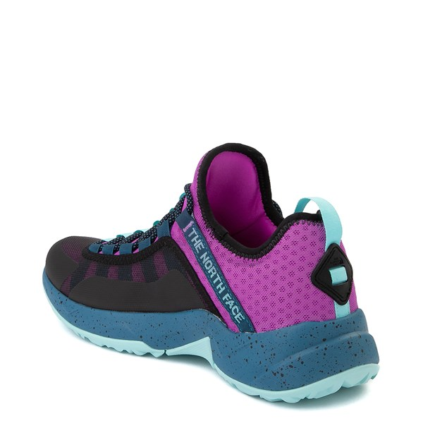alternate view Womens The North Face Trail Escape Peak Hiking Shoe - Purple Cactus Flower / Moroccan BlueALT2