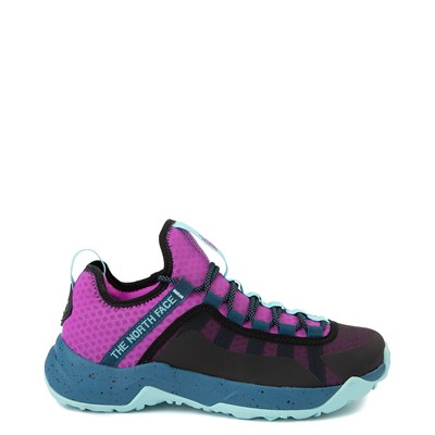 Main view of Womens The North Face Trail Escape Peak Hiking Shoe - Purple Cactus Flower / Moroccan Blue