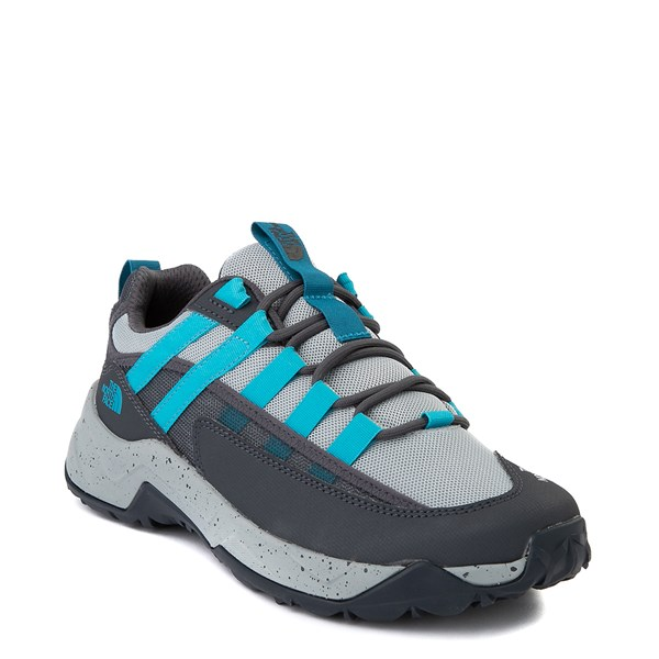 alternate view Womens The North Face Trail Escape Crest Hiking Shoe - High Rise Gray / Ebony GrayALT1
