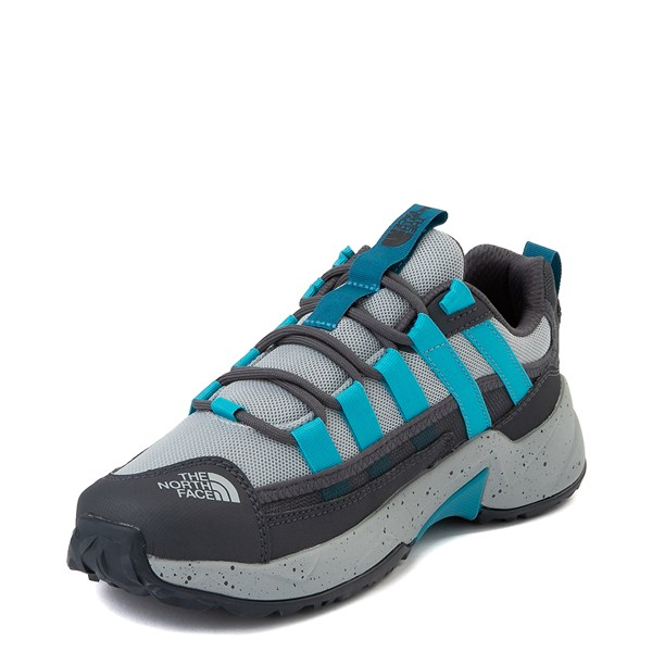 alternate view Womens The North Face Trail Escape Crest Hiking Shoe - High Rise Gray / Ebony GrayALT3