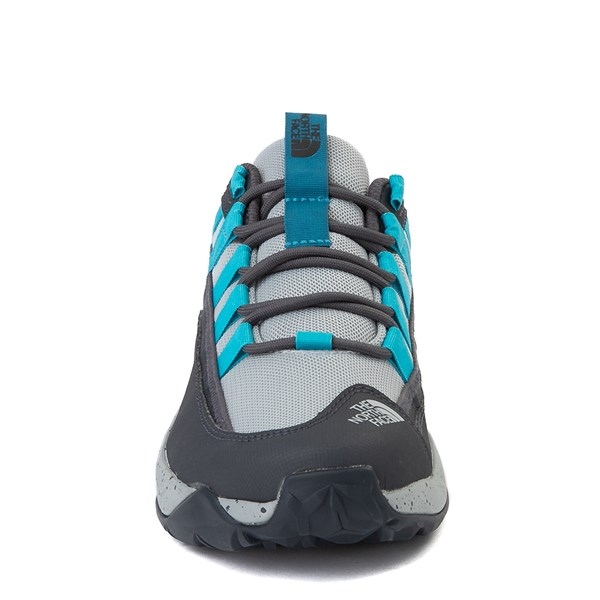 alternate view Womens The North Face Trail Escape Crest Hiking Shoe - High Rise Gray / Ebony GrayALT4