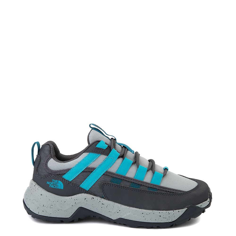 Womens The North Face Trail Escape Crest Hiking Shoe - High Rise Gray / Ebony Gray