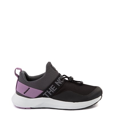 Main view of Womens The North Face Surge Pelham Slip On Athletic Shoe - Black / Darkshadow Gray