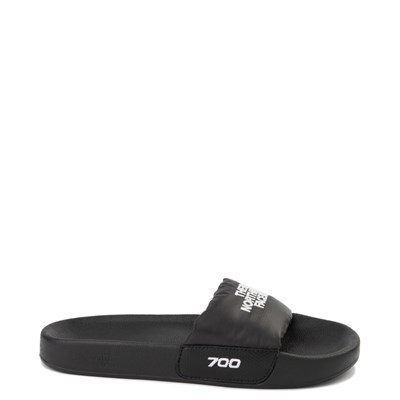 Main view of Womens The North Face Nuptse Slide Sandal - Black