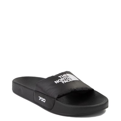 Alternate view of Womens The North Face Nuptse Slide Sandal - Black