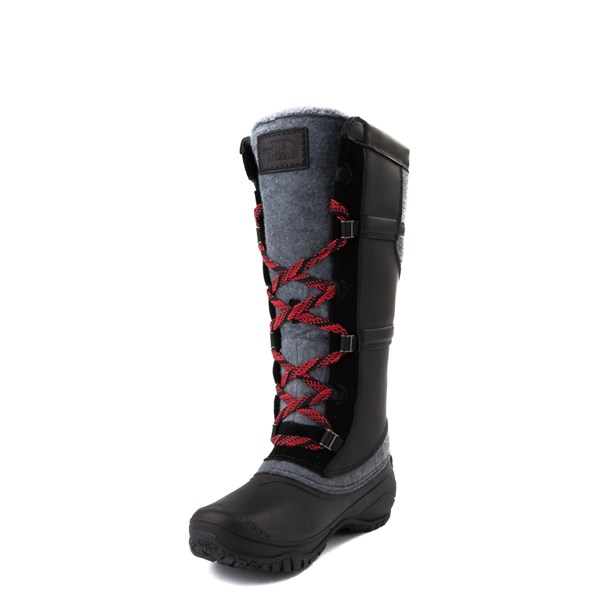 alternate view Womens The North Face Shellista IV Tall Boot - Black / Zinc GrayALT3