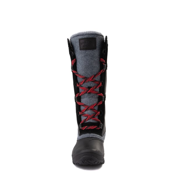 alternate view Womens The North Face Shellista IV Tall Boot - Black / Zinc GrayALT4